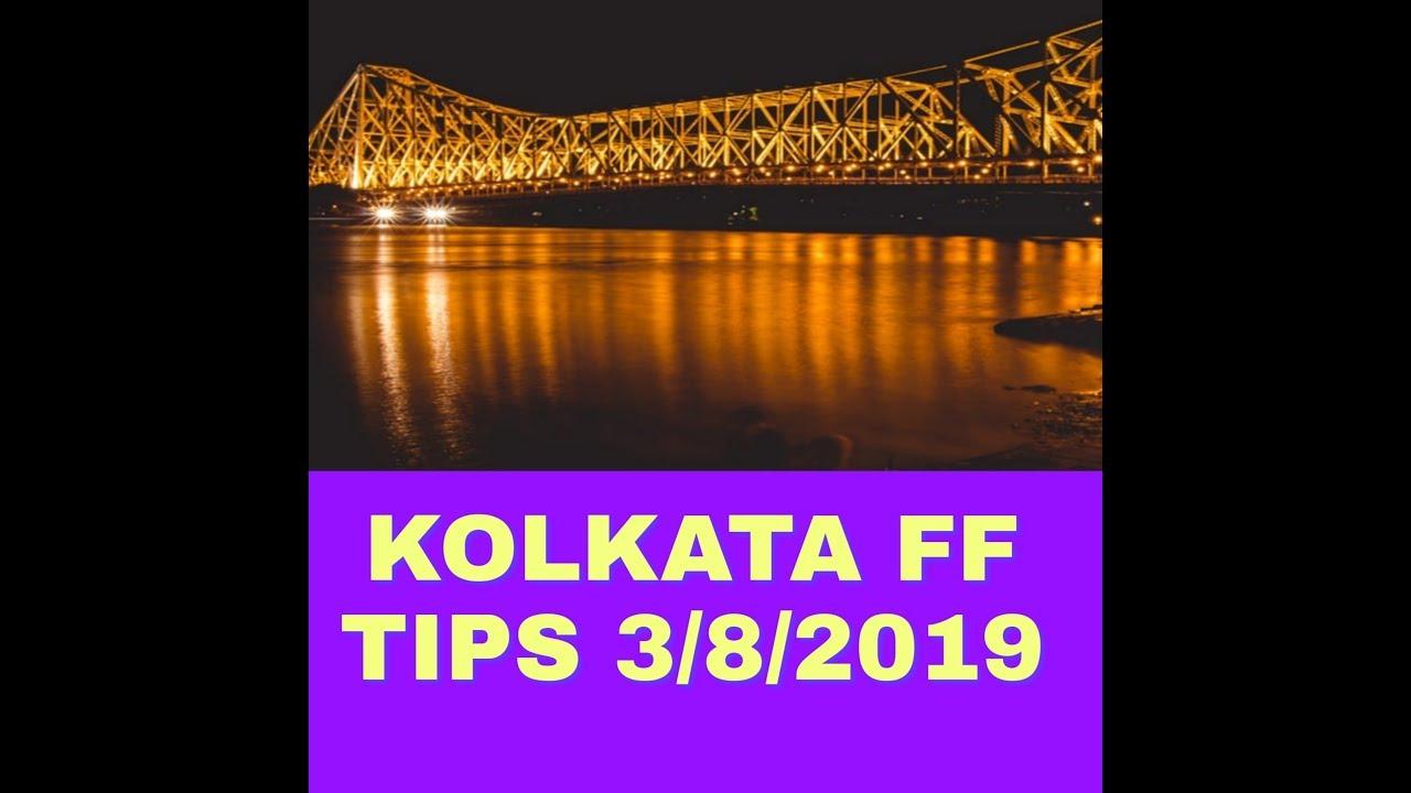 Repeat Kolkata FF Rolling game 1th To 4th baji 3/08/2019 by