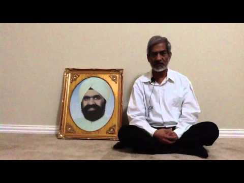 Walking on the path of Sant Mat