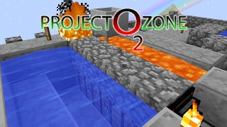 Project Ozone 2 Kappa Mode - VEIN MINER COBBLE FARM [E03] (Modded Minecraft Sky Block)