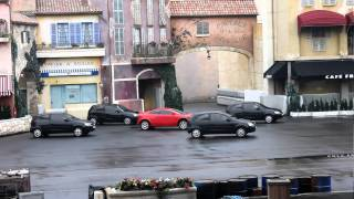 Moteur Action - Tournage d'un film à cascades - Disneyland Paris