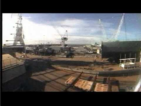 ANZAC Ship Construction Timelapse - Integrated Project Management