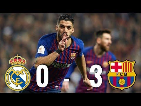 Real Madrid vs Barcelona [0-3], Copa del Rey Semi-Final 2019, El Clasico - MATCH REVIEW thumbnail