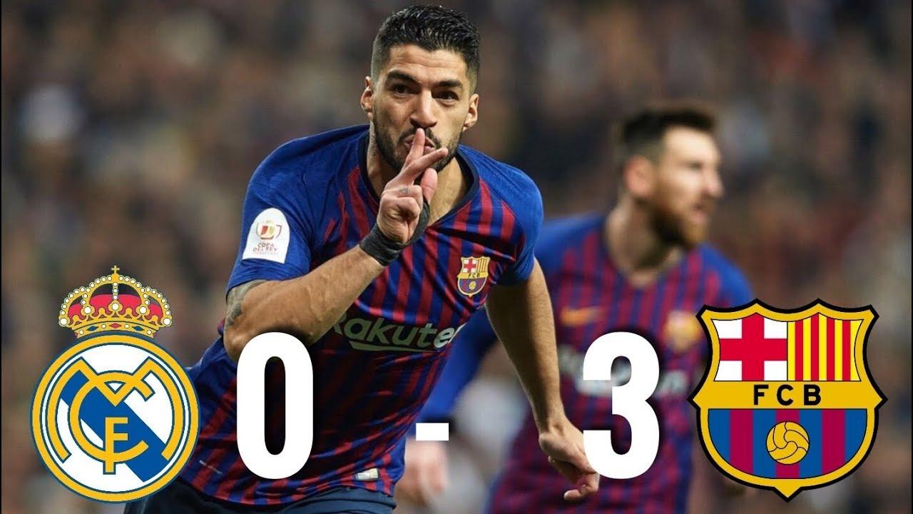 1c24c274f Real Madrid vs Barcelona  0-3