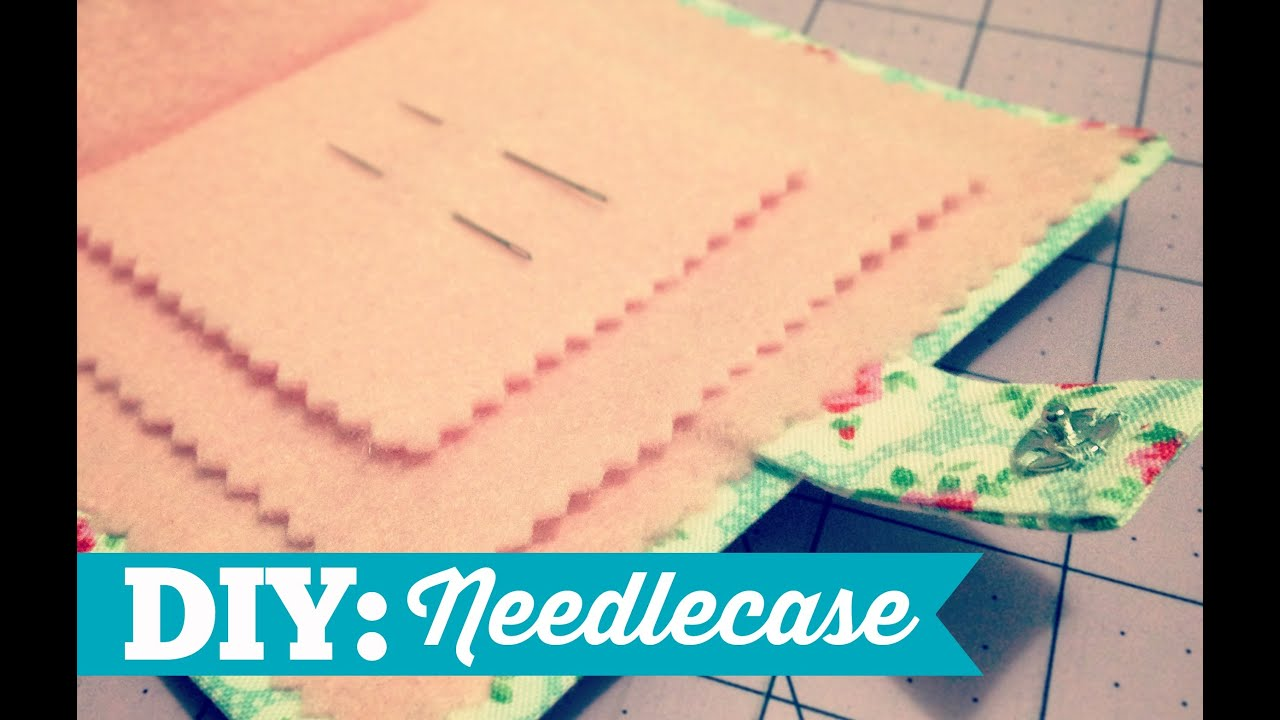 How to Make a Simple Needlecase! - YouTube