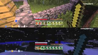 Minecraft Xbox - Let's Play - XP Challenge - 2 Player Survival No Swearing No Cussing
