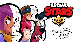 BRAWL STARS | Draw My Life