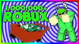 I MADE 1,000,000+ ROBUX IN UNDER 1 HOUR... thx roblox