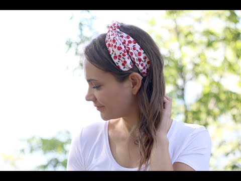 Diy Wire Headbands Sewing No Sewing Method Youtube