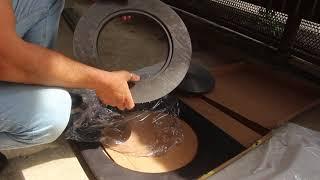 Усиленная плита под казан Везувий ПК-400 Сегодня обзор этой плиты.