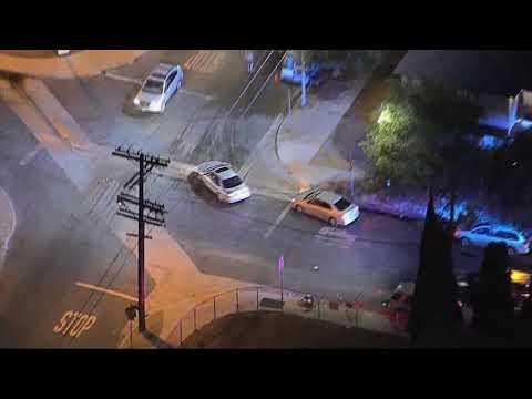 10/1/18: Car Chase Murder Suspect Carjacking - Unedited