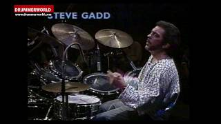 Steve Gadd: DRUM SOLO from Lucky 13 - 1987