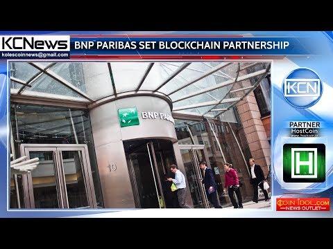 BNP Paribas makes blockchain partnerships