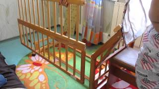 как собрать детскую кроватку Geoby(Собираем детскую кроватку Geoby. Весь процесс занимает не больше 10 минут ;), 2013-07-12T16:01:48.000Z)