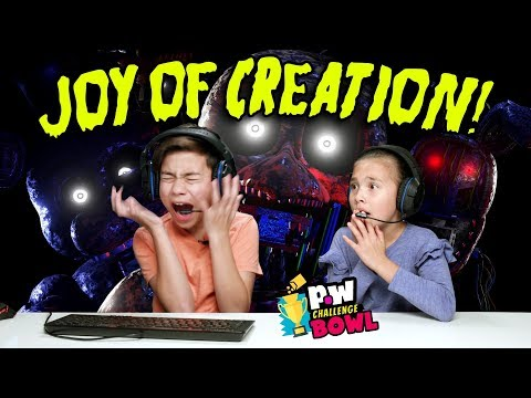 EvanTubeHD VS HobbyKidsTV - THE JOY OF CREATION - SCARY!!! pocket.watch Challenge Bowl 2018!