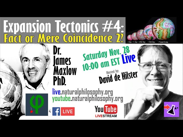 Expansion Tectonics: Fact of Mere Coincidence 2 with Dr. James Maxlow