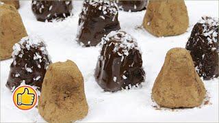 Шоколадные Конфеты Трюфели из Фасоли, Полезно и Вкусно | Chocolate Candy Truffles with Beans