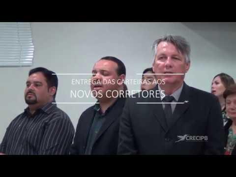 Solenidade de Entrega de Carteiras e Certificados – Campina Grande/PB