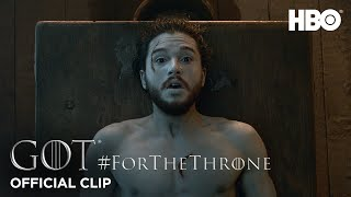 """Jon Snow's Resurrection"" #ForTheThrone Clip 