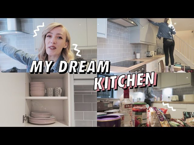 Apartment Kitchen Tour | Moving Vlog 2