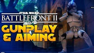 Star Wars Battlefront 2 Aiming Tips: Hip Fire vs Aim Down Sights & Gunplay Improvements