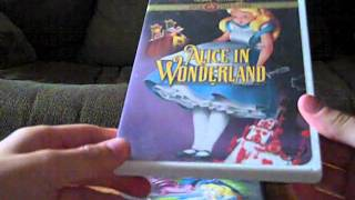 2 Different DVD Versions of Alice In Wonderland