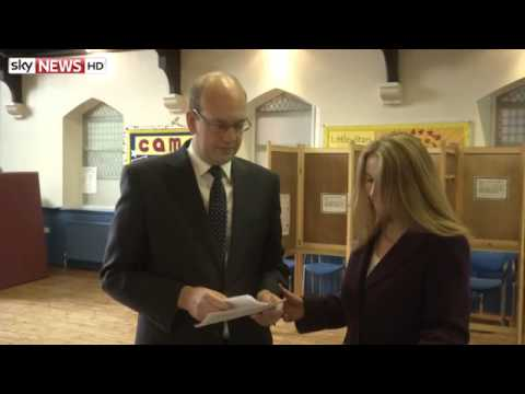 Ukip's Mark Reckless Casts Vote In Rochester And Strood By-Election