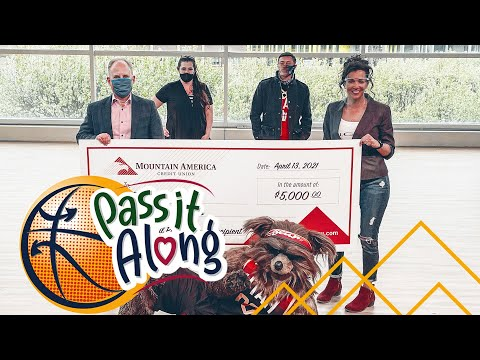 "Mountain America and the Utah Jazz's ""Pass it Along"" Program..."