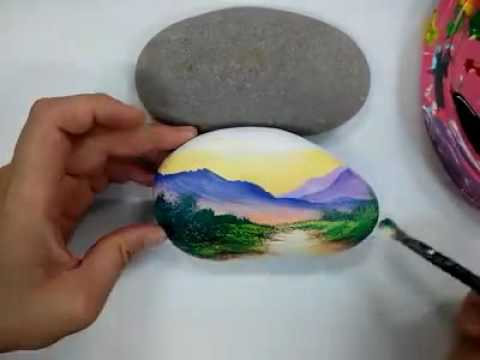 Stone painting: www.artsales.in