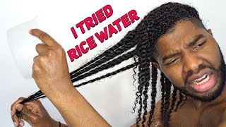 Y'ALL, I TRIED RICE WATER...