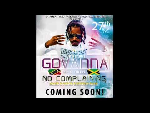 GOVANA-NO COMPLAINING ST KITTS PROMO