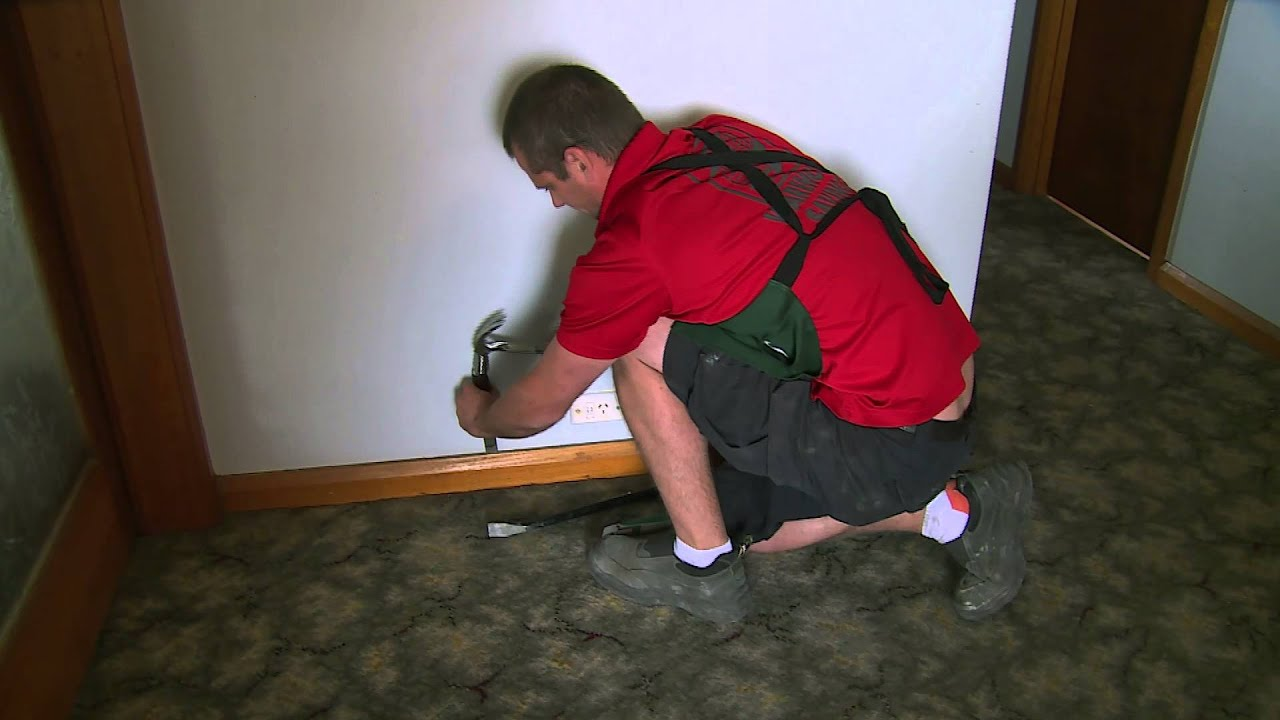 How To Remove Skirting Boards Diy At Bunnings Youtube