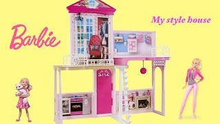 Barbie My style House - My Own Way Barbie Dreamhouse  | Barbie Toys Unboxing and Review