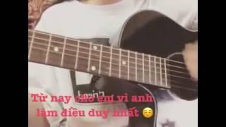 Anh yêu em thật rồi Guitar cover | #Anhyeuemthatroicover | #gintuankiet