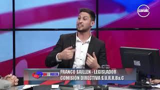 Franco Saillén | Legislador provincial y miembro S.U.R.R.Ba.C