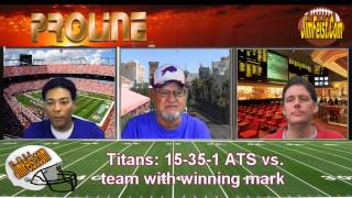Monday Night Football Free Pick: Steelers vs. Titans + NFL Best Bets, November 17, 2014
