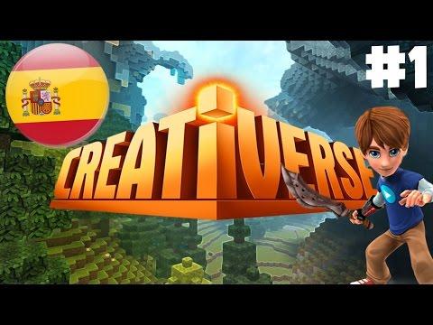 ¡MI NUEVO MUNDO!   CREATIVERSE GAMEPLAY ESPAÑOL 2016 #1