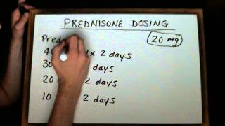 Community Pharmacy Prescriptions II: Prednisone Dosing