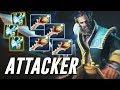 Attacker Kunkka | HARD game even for PRO.. | Dota 2 TOP MMR