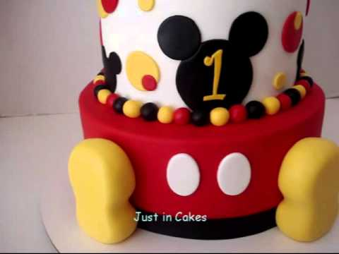 How to make mickey mouse cake video — pic 1