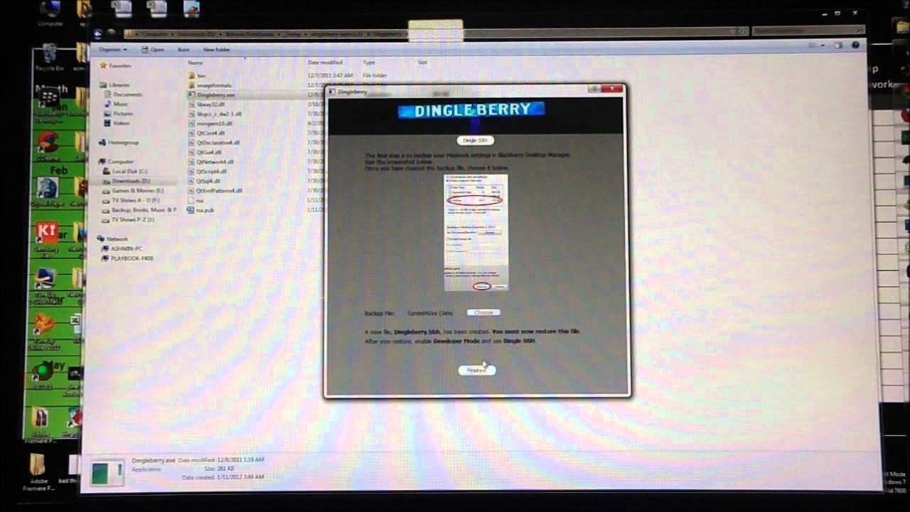 How to Root (or) Jailbreak the Blackberry Playbook (HD) - Cursed4Eva