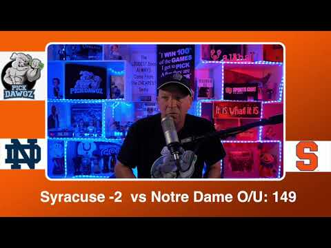 Syracuse vs Notre Dame 2/20/21 Free College Basketball Pick and Prediction CBB Betting Tips