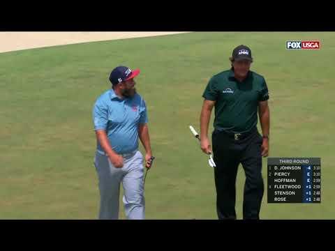 Phil Mickelson Takes 2 Stroke Penalty - US Open 2018 Shinnecock Hills