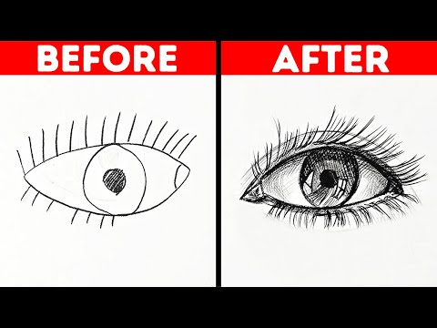 25 ABSOLUTELY BRILLIANT DRAWING TIPS FOR BEGINNERS