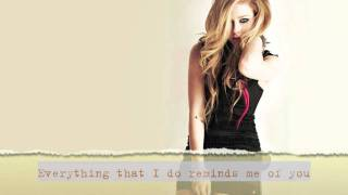 Video Avril Lavigne - When You're Gone (Acoustic Instrumental w/ Lyrics) download MP3, 3GP, MP4, WEBM, AVI, FLV Agustus 2018