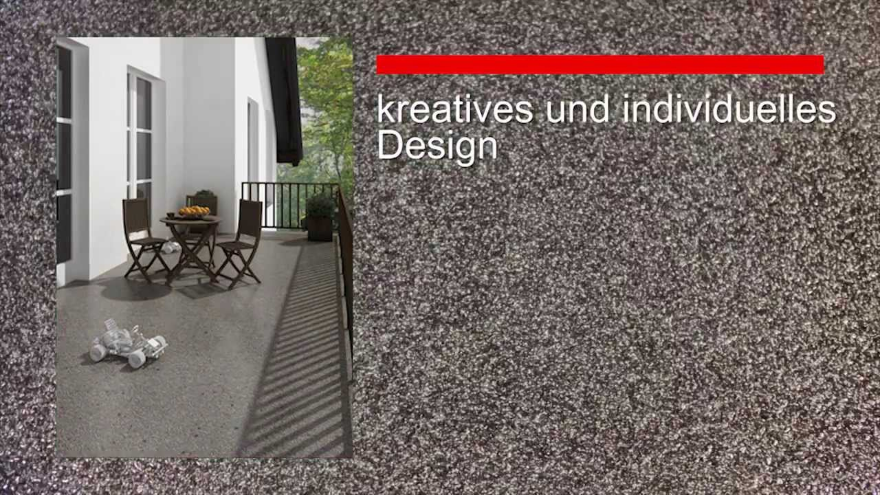 Enke Flussigkunststoffe Fur Balkone Youtube