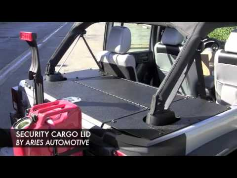 Aries Jeep 174 Security Lid Youtube
