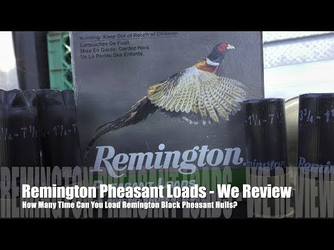 How Many Times Can You Load Remington Pheasant Load Hulls? - We Review