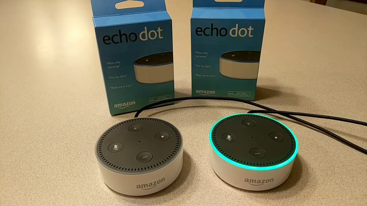 How To Setup Two Amazon Echo Dot S To Work Together With Echo Plus Youtube