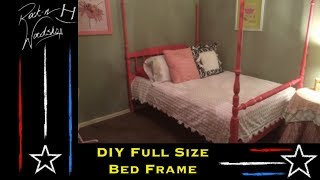 Make Your Own Full Size Bed