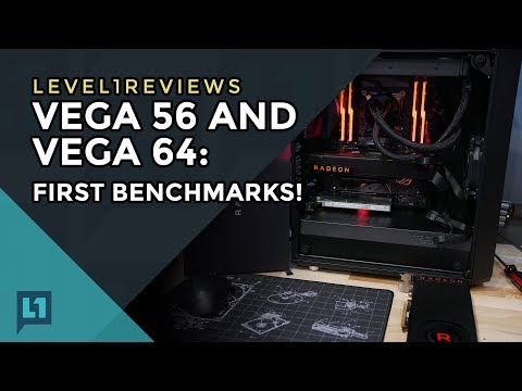 Radeon RX Vega 56 and Vega 64 Retail Editions: First Benchmarks (Games, Mining, Impressions)